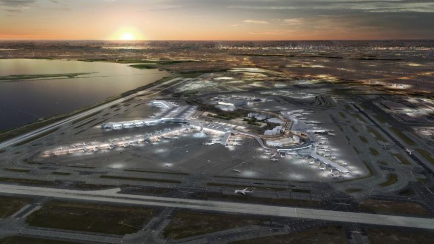 An historic $13 billion plan to transform John F. Kennedy International Airport into a modern 21st century airport was announced by Gov. Andrew M. Cuomo. (Gov. Cuomo's Office photo)