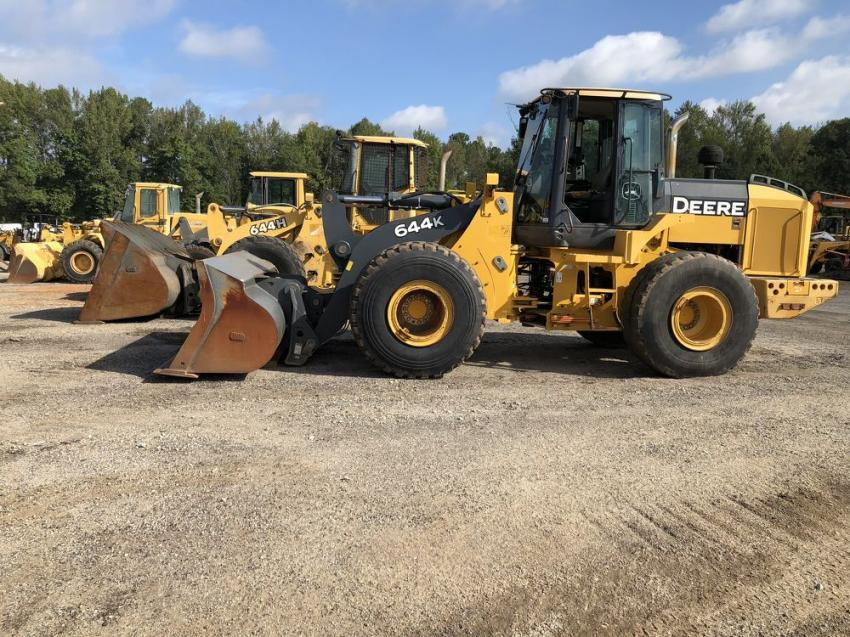 This John Deere 644K wheel loader was sold to a contractor in Miami.