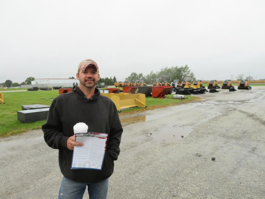 Jim Mansell of Mansell Construction came to see if he could add some iron to his equipment fleet.