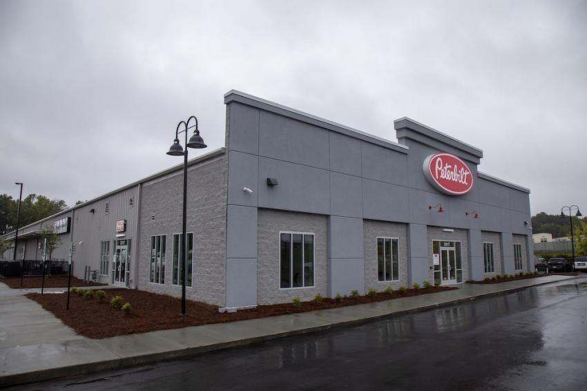 The Larson Group held a grand opening Oct. 10 at its newest Peterbilt dealership location in Charlotte, N.C.