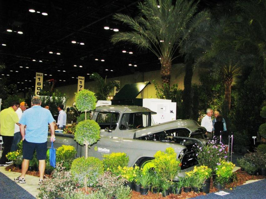 The Orlando Convention Center was transformed into an island paradise during The 2018 Landscape Show.