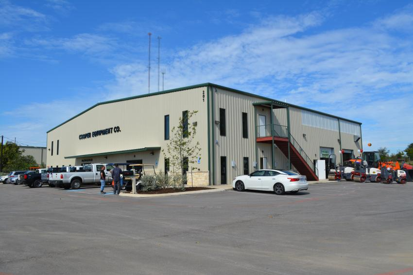 Cooper Equipment Co.'s new Georgetown, Texas, facility was the site of the grand opening celebration.