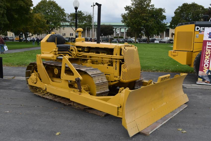 This 1957 Caterpillar D4-7U is currently under restoration by John Schoeck of Canastota, N.Y.