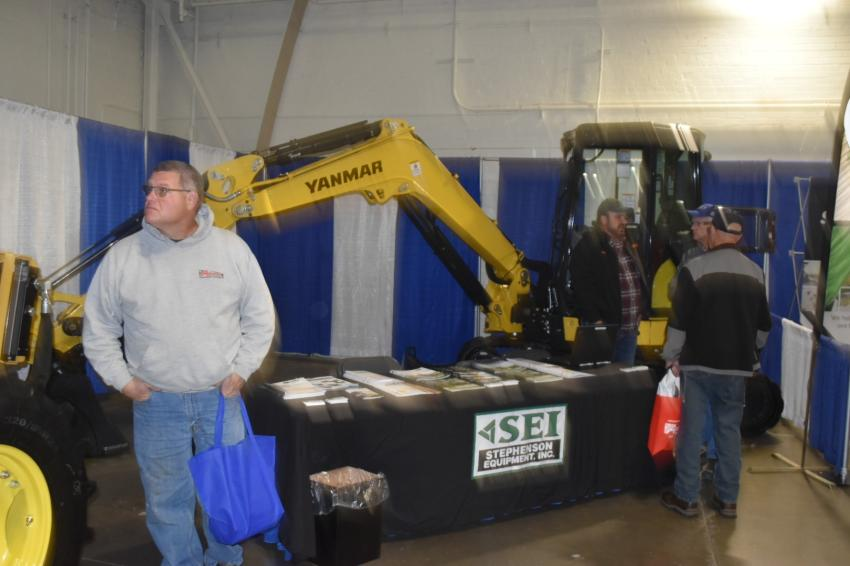Stephenson Equipment returned this year to the NYS Highway and Public Works Expo with some Yanmar equipment.