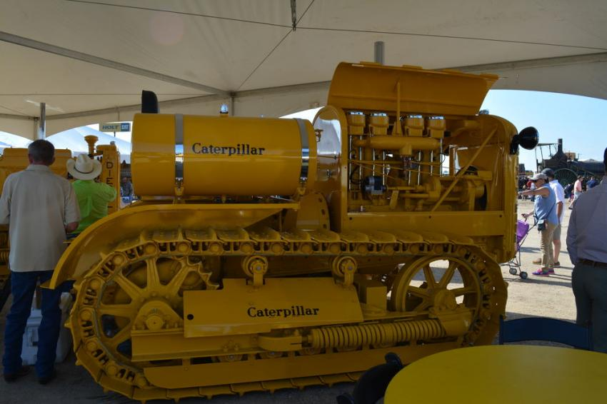 This 1932 Caterpillar Gas 65 is part of the HOLT CAT collection.