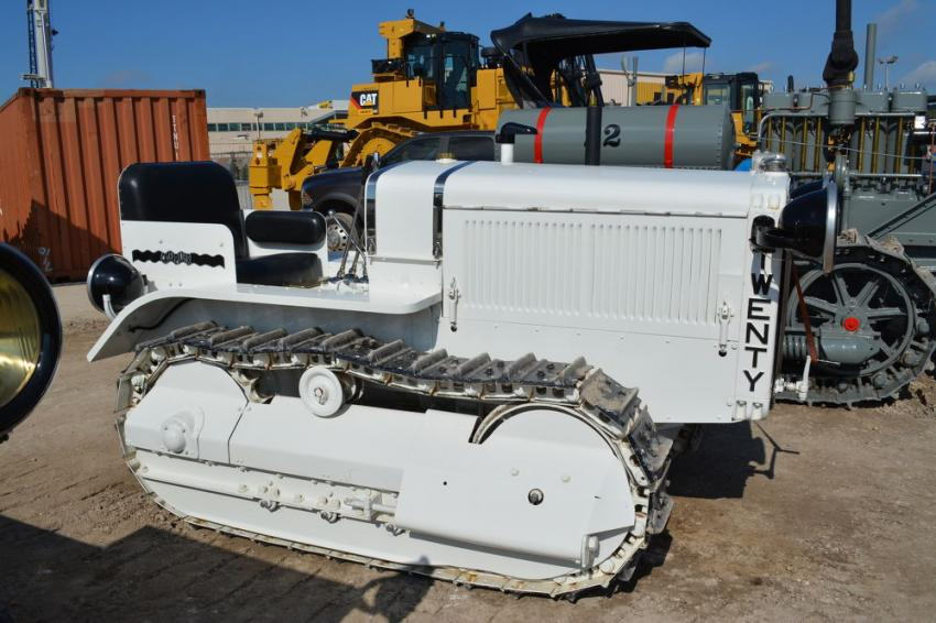 The first Caterpillar machine ever produced was this Cat Twenty. The proud owners, the Veerkamp family of Placerville, Calif., said that they have turned down many offers to the buy the machine, including one from Caterpillar Inc.