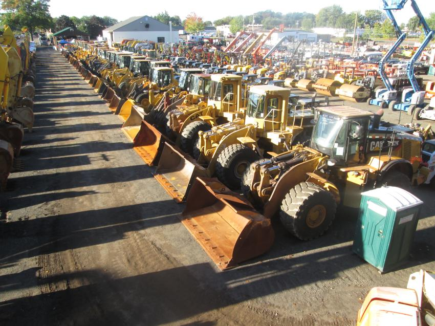 This Oct. 6 sale was by far Sales Auction Company's largest and most successful sale ever with 1,213 lots sold, including a large variety of excavators, loaders, dozers, more than 30 skid steer loaders, farm tractors and a large selection of trucks.