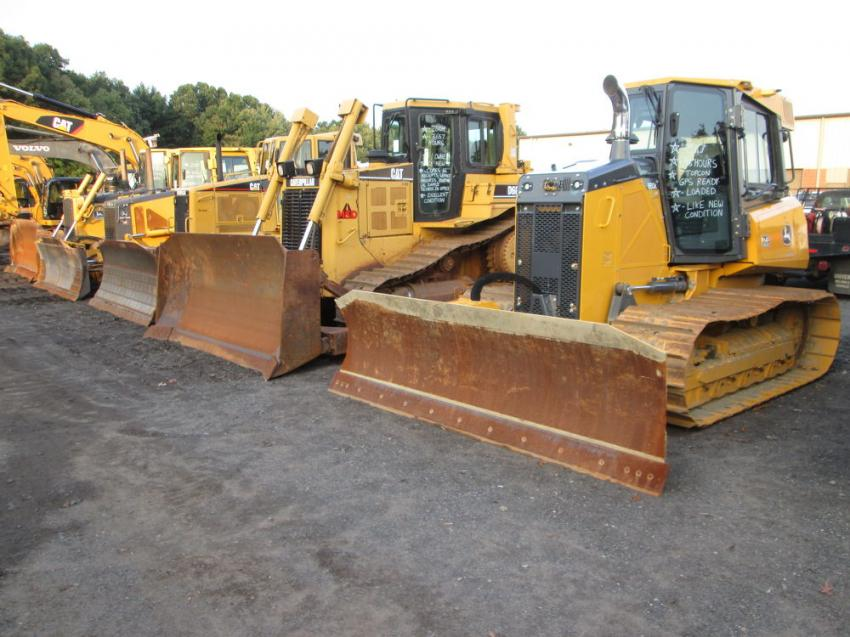 This 2004 Cat D6R sold to a repeat customer from Australia for $95,000.