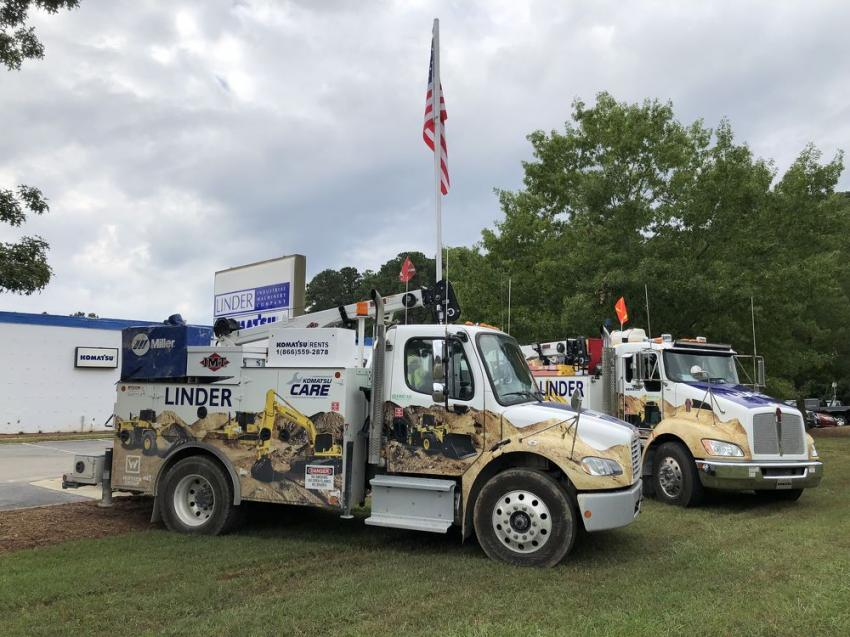 The company is committed to service and is adding additional trucks.