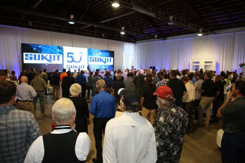 Sukut held its 50th Anniversary celebration at the Orange County Great Park in Irvine, Calif., inside Hangar 224.