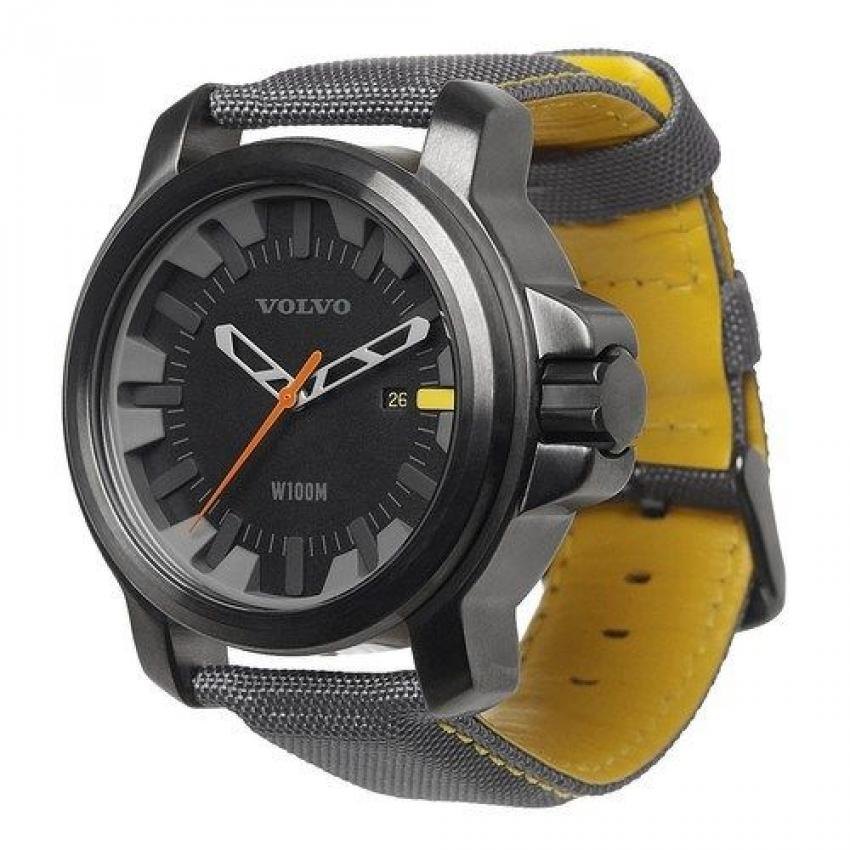 Is there someone on your list who is perpetually late? This watch from Volvo might help. Designed with the brand's colors and logo, the water-resistant watch features luminescent numbers, a stainless steel movement and a strong band for $130.67. https://bit.ly/2Ts8gcY