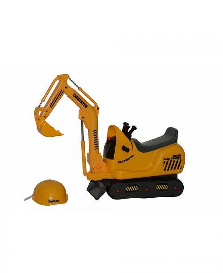 With a little practice on this SkyteamTechnology Micro Construction Excavator, your little buddy will be helping you move dirt around the job site — or backyard — in no time! The battery-operated excavator makes two different engine sounds as your child maneuvers the control to move the jib and bucket. $82.99. https://mcys.co/2B2QJRA