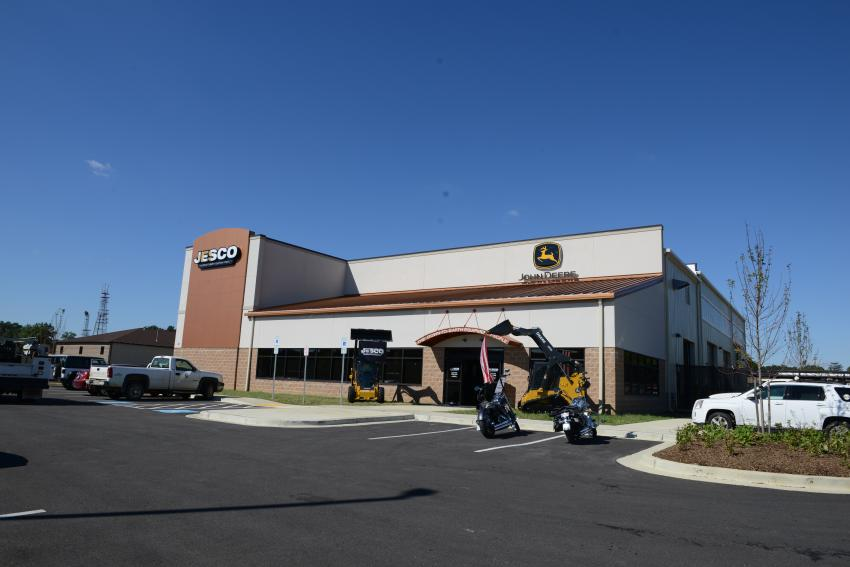 JESCO'S new facility sits on 5½ acres in Waldorf, Md.