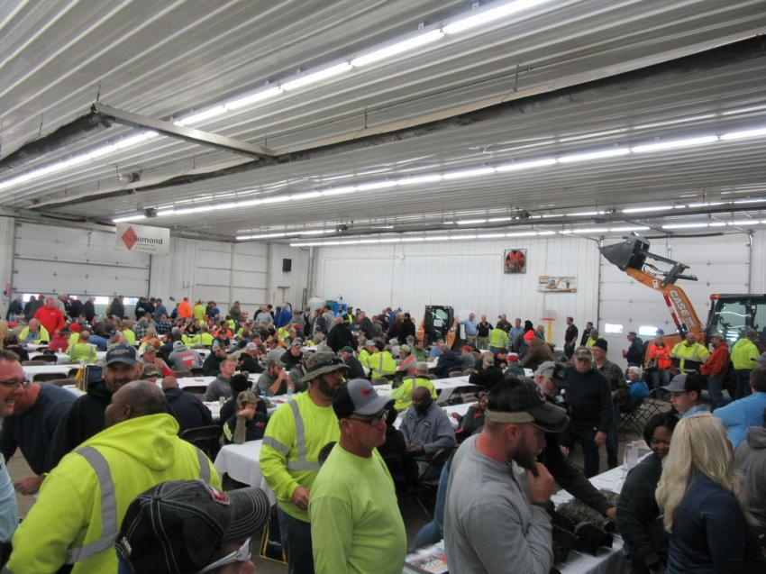 Diamond Equipment's annual Thanksgiving Open House attracted approximately 700 attendees.