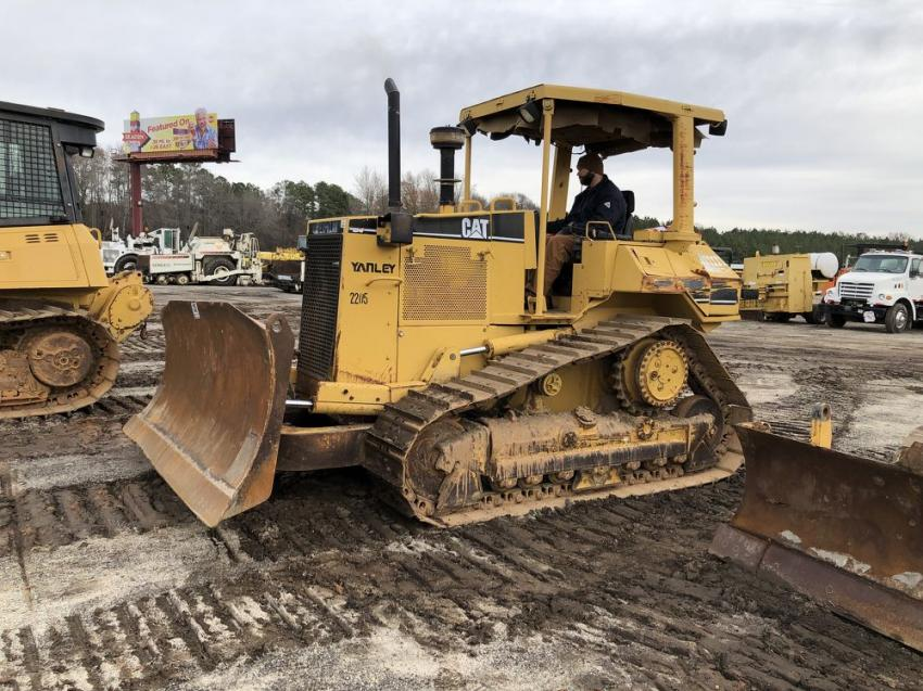 This contractor from South Georgia tested out a Cat D6 dozer.