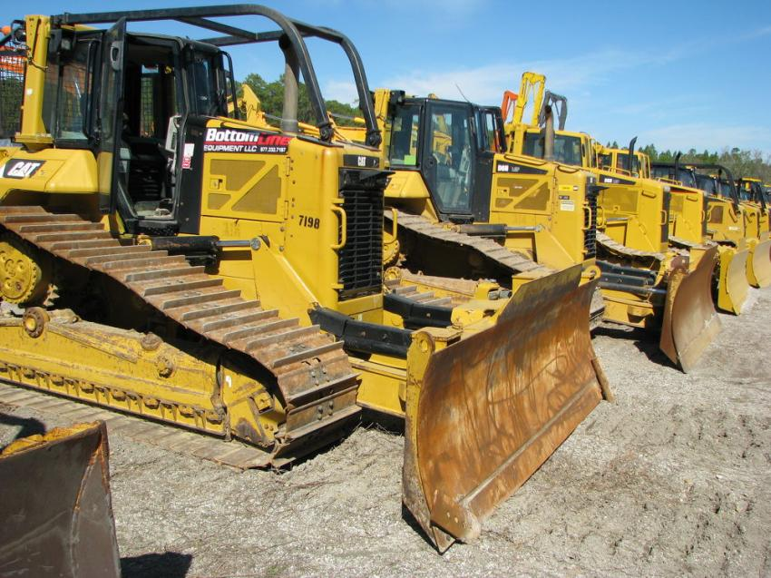 Another extensive selection of dozers went on the auction block at the Alex Lyon & Son sale.