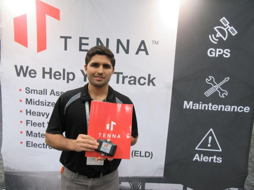 Tenna co-Founder Jose Cueva introduces the new Tenna Go Plug-In at World of Asphalt.
