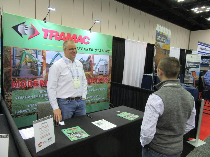 Tramac Corporation's Mark Cornelius discusses the company's lineup of demolition and processing with Patton Deischer of Turner Mining Group.