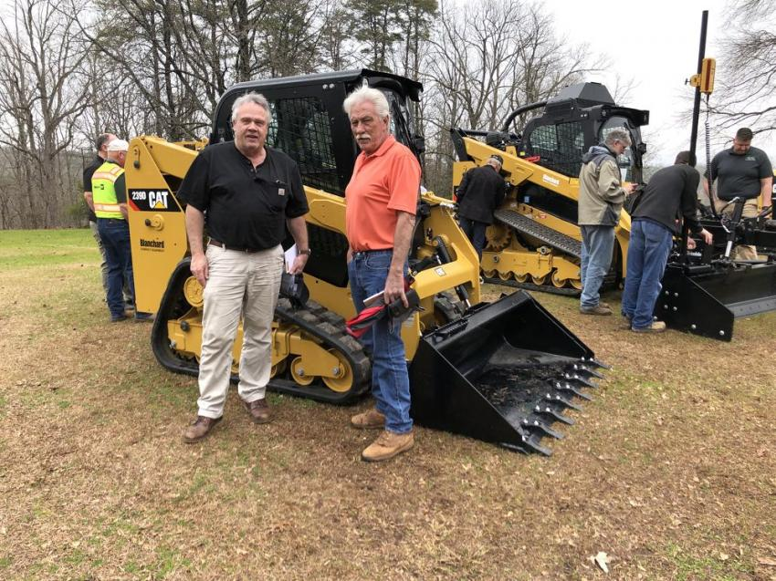Eddie Reeps (L) of ECR in Simpsonville, S.C., and Doug Dobbins of Dobbins & Company in Campobello, S.C.