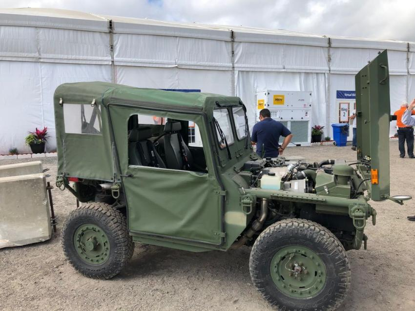 GovPlanet, a division of Ritchie Bros. that liquidates government surplus items, displayed a whole new batch of government off-road vehicles that were available at absolute auction prices.