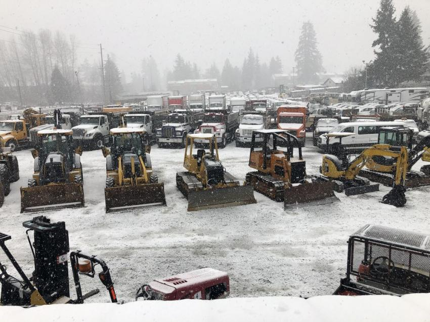 The snow came down all week leading up to the Feb. 9 auction. A lot of hard work by so many made this one possible.