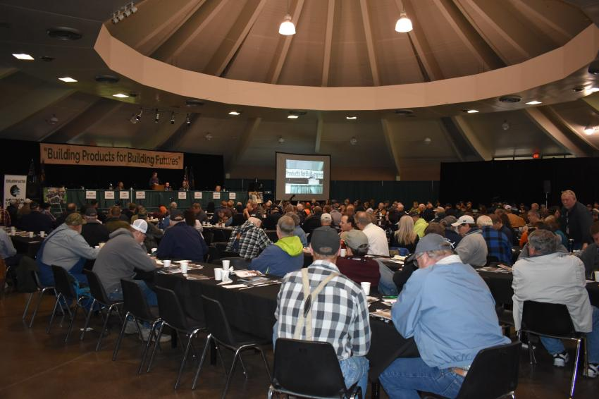 'Building Products for Better Futures' was the theme of this year's Oregon Logging Conference. (Mary Bullwinkel photo)