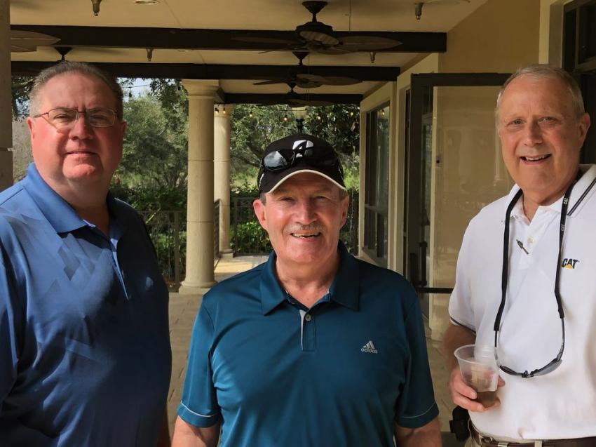 (L-R) are David Mehrtens of Kirby Smith; Charlie Baer of Zeigler Cat; and Mike Wyss of TNNC Capital.