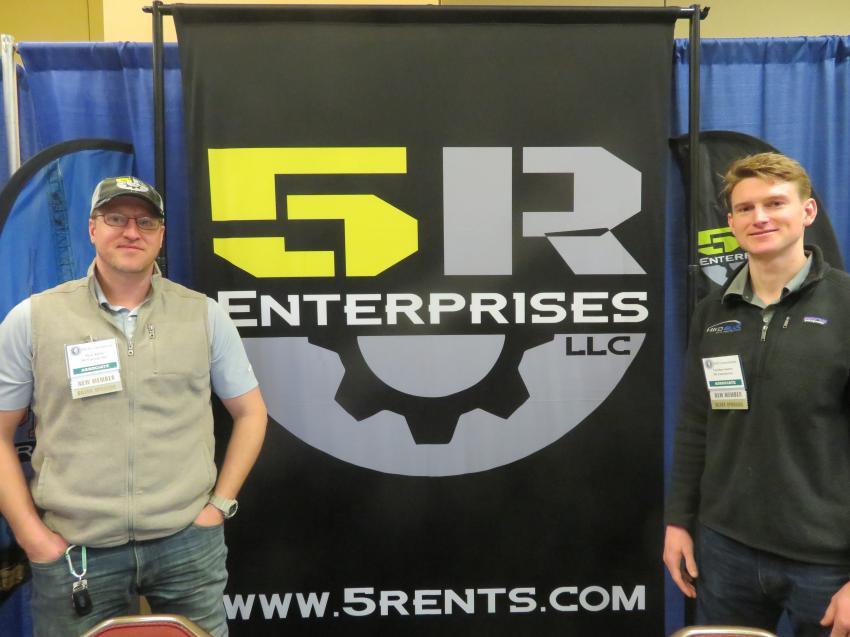 Nick Klein (L) and Gordon Sentry of 5R Enterprises.