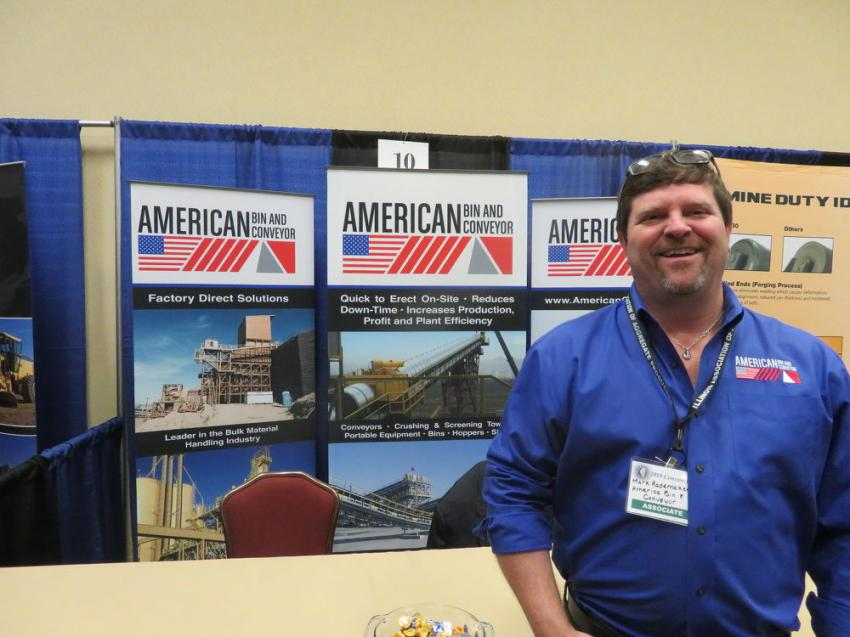 Mark Rademaker, president of American Bin and Conveyor.