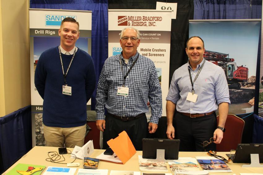 (L-R): Devan Bawinkel, Dave Bawinkel and Todd Kundinger of Miller-Bradford & Risberg Inc.