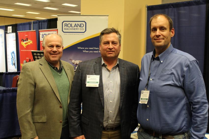 (L-R): James Jesuit, Matt Roland and Chris Ingram of Roland Machinery.