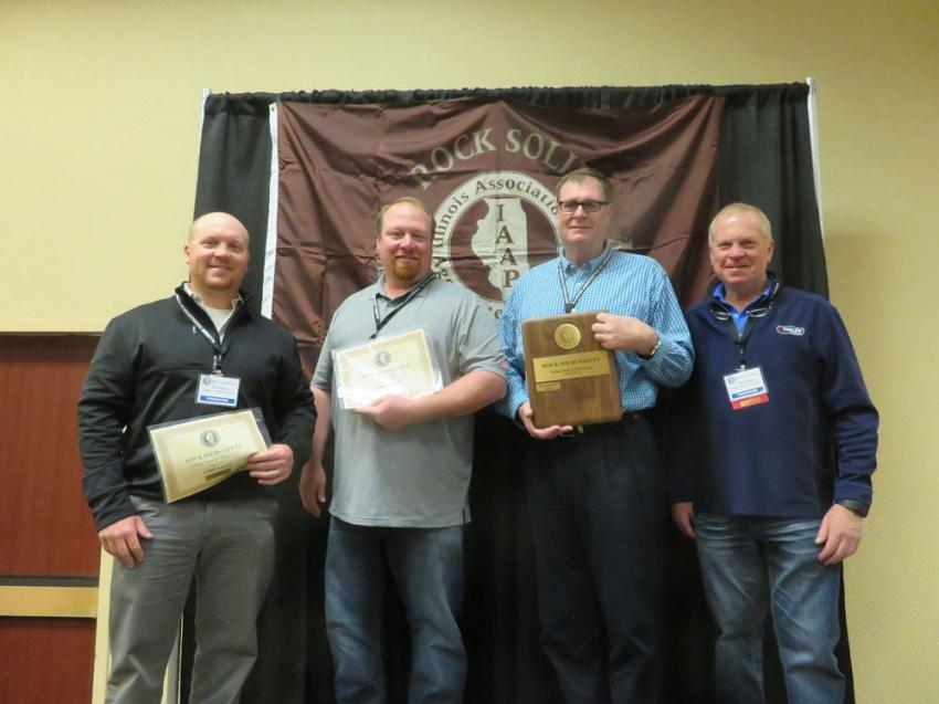 Rock Solid Excellence in Safety Award and Gold Award — Thelen Sand & Gravel