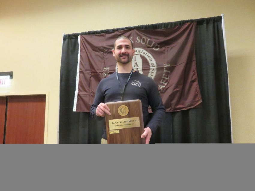 Rock Solid Excellence in Safety Award — GZA GeoEnvironmental Inc.