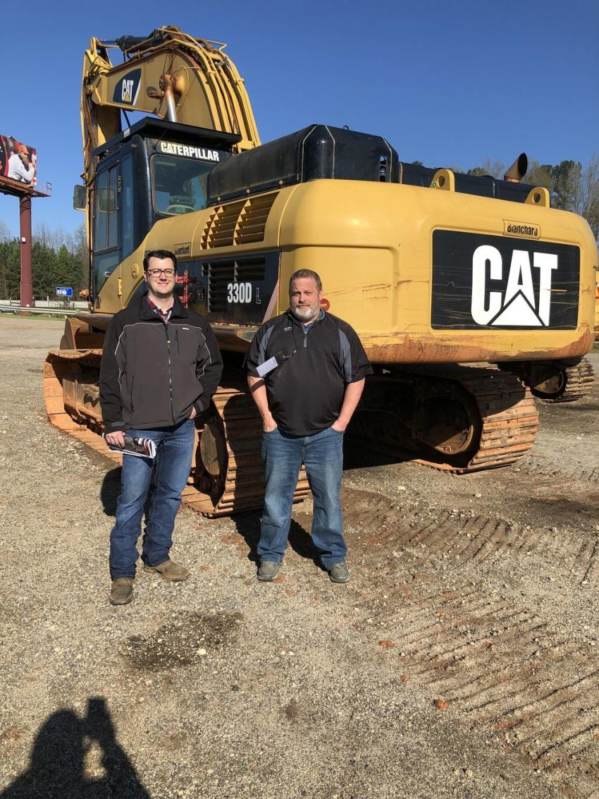 Brock Menold (L) and Daniel Lawrence of Yancey Cat in Atlanta, Ga.