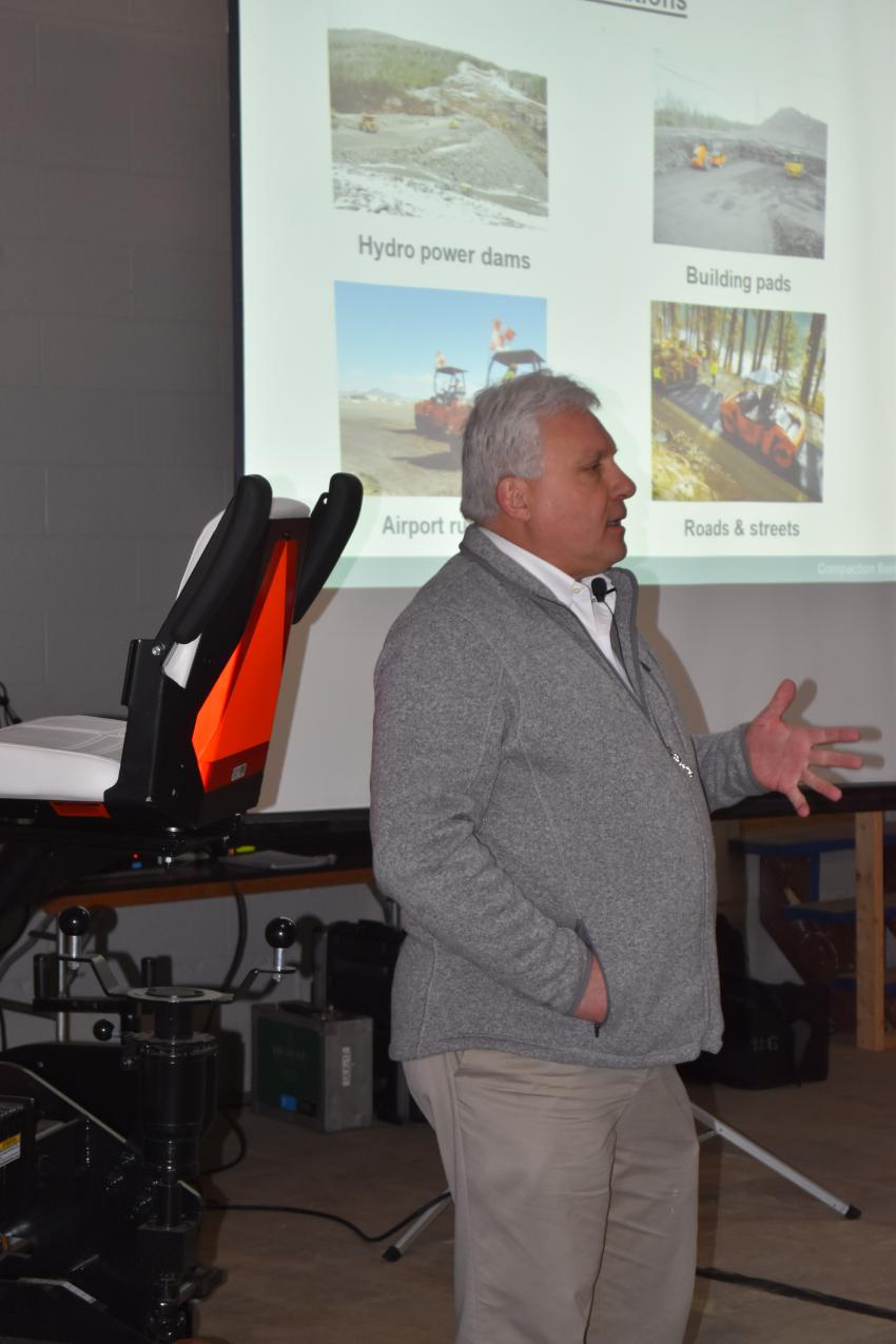 Dave Reposa of The Wirtgen Group offers a presentation on compaction/oscillation best practices.