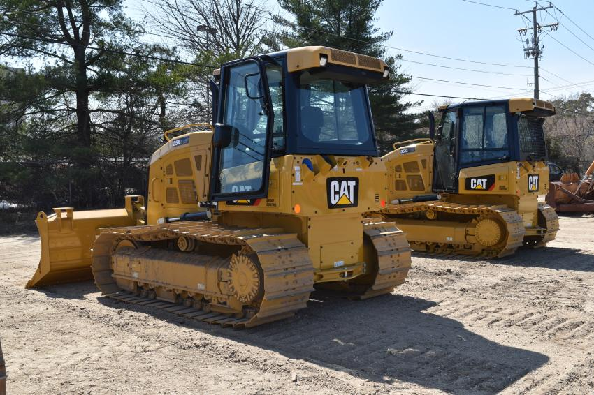 Nearly 10 dozers were available to the highest bidder.