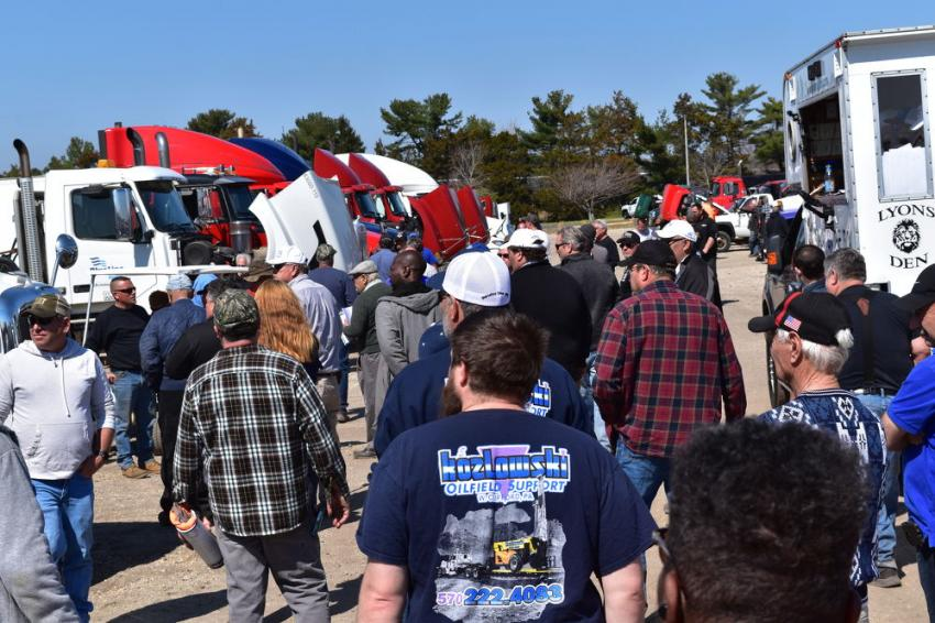 Alex Lyon & Son held a three-day auction from April 4 to 6, 2019, at the Atlantic City Race Track in Atlantic City, N.J.