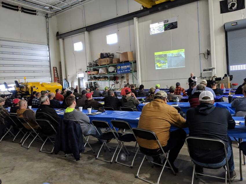 Tim Hoover of Bomag speaks on quality paving and compaction procedures.