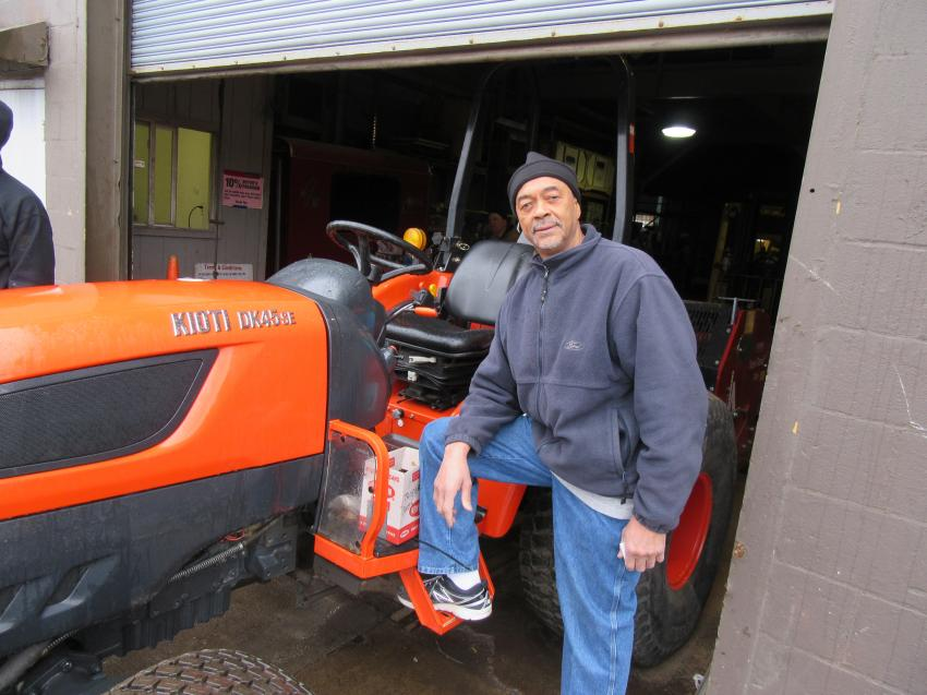 Joe Totten of Nice Works Landscaping was in the market for equipment to add to his fleet.