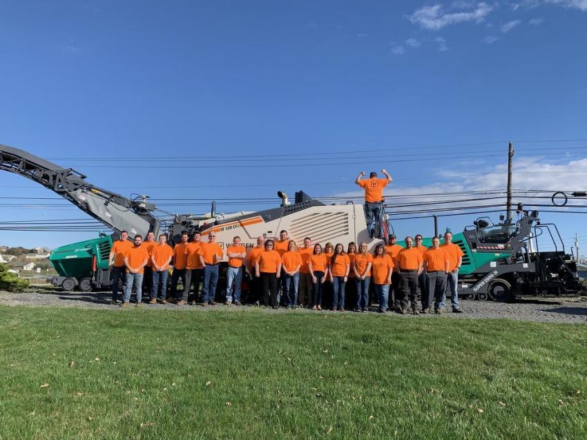 Groff Tractor staff in Mechanicsburg.