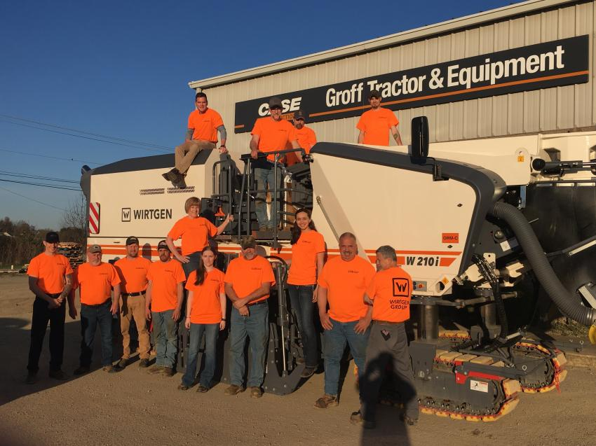 Groff Tractor staff in New Stanton.