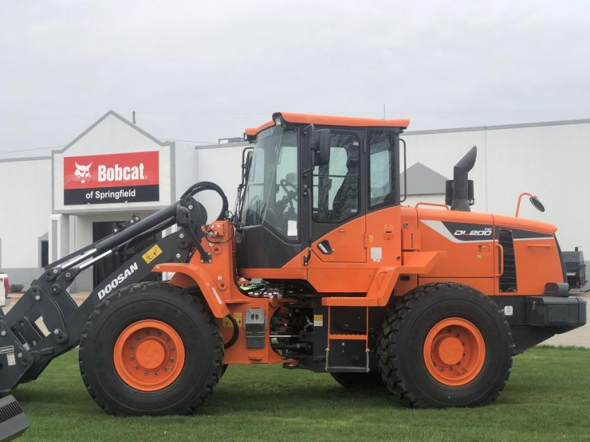 Bobcat of Springfield also represents Doosan, as well as other brands.