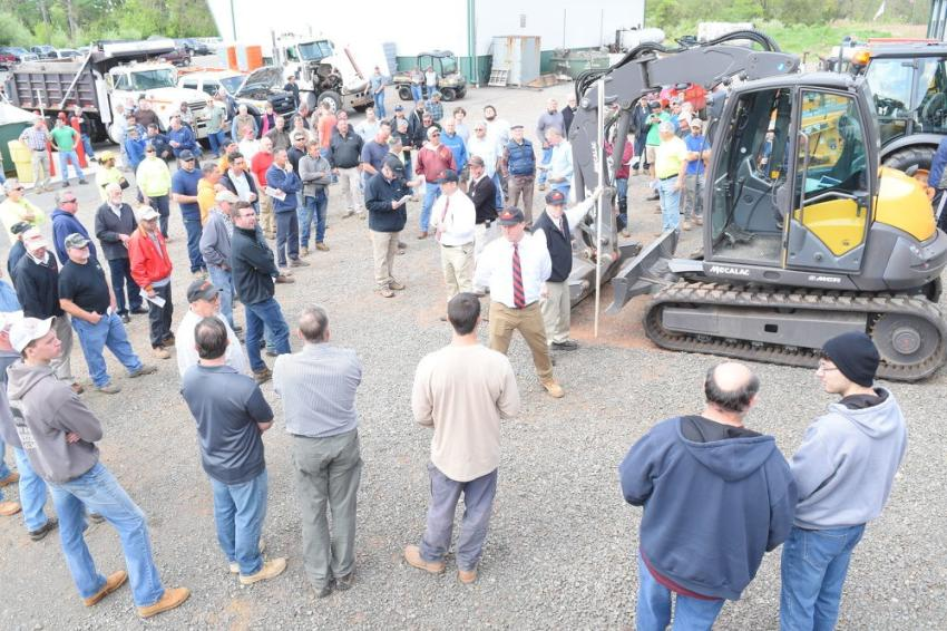 Hunyady's complete liquidation auction was held for Hale Built, whose owner, Glen Hale, recently decided to close his company's milling and paving operation to focus on real estate endeavors.
