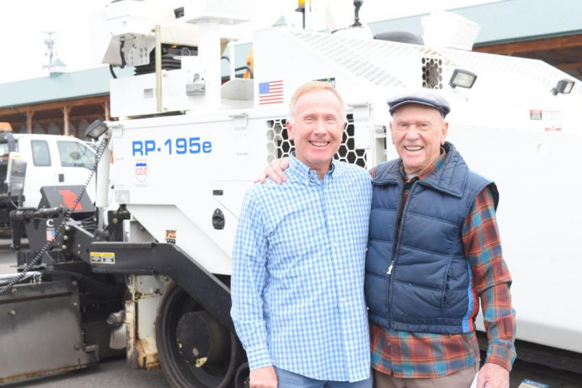 Michael (L) and Ed Dolan, owners of Dolan Contractors Inc., Westampton, N.J.