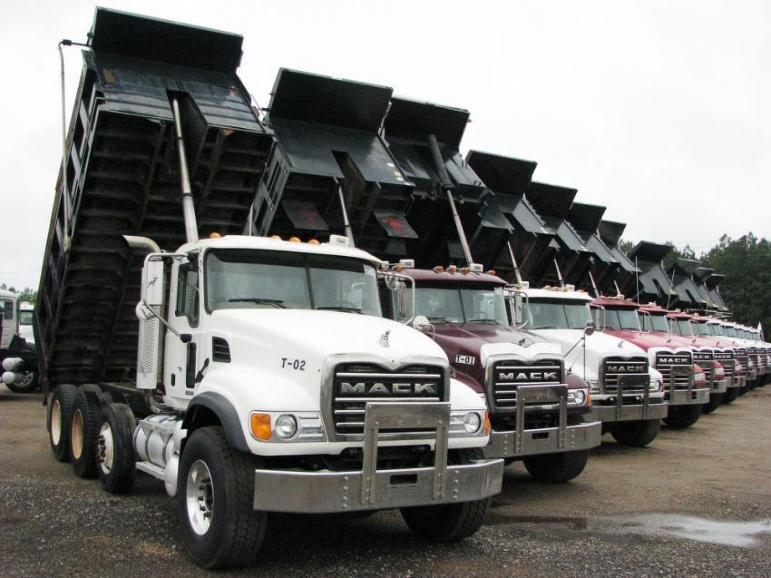 "The Brooklyn, Miss., sale has become a solid source for quality dump trucks and truck-tractors. This sale was no exception as a ""slew"" of Mack dumps were available to the highest bidder."