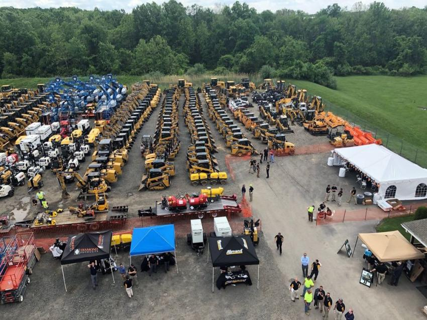 The sale featured more than 600 pieces of equipment at special pricing.