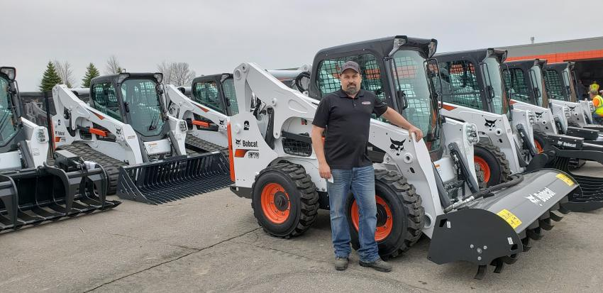 Wade Austin, product and service technician at Tri-State Bobcat, has training classes that operate of the Burnsville location to assist companies on operation and service practices on a wide range of products carried at Tri-State Bobcat.