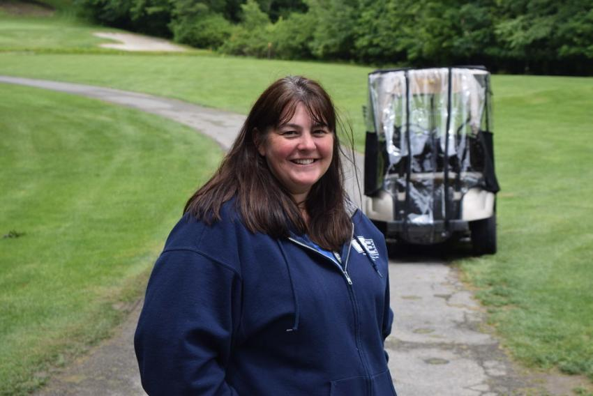 Kathy Trojahn of Pine Bush Equipment.