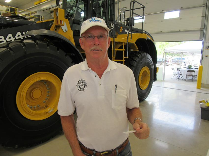 Lee Cadby of Northeast Diversification Inc. said his company has relied on John Deere equipment for approximately 38 years and that both the machines and Five Star Equipment provide outstanding service.