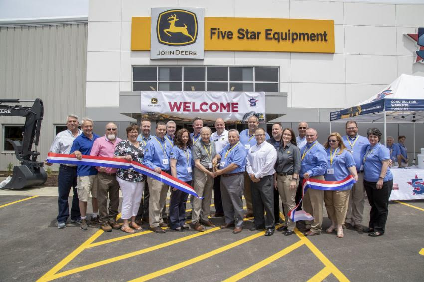 Five Star Equipment celebrated the grand opening of its new facility at 284 Ellicott Rd. in Orchard Park, N.Y., on June 12.